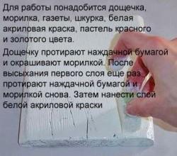 Как сделать икону своими руками – метод декупажа.