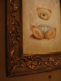 Картина в детскую своими руками.